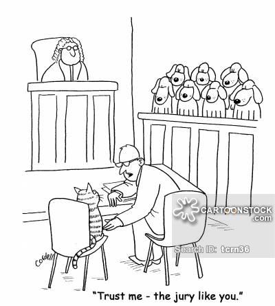 'Trust me - the jury like you.'